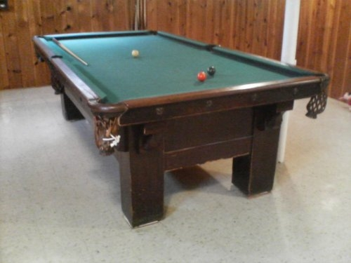 Brunswick Balke Collender Table Id Azbilliards Forums - How To Identify A Brunswick Pool Table